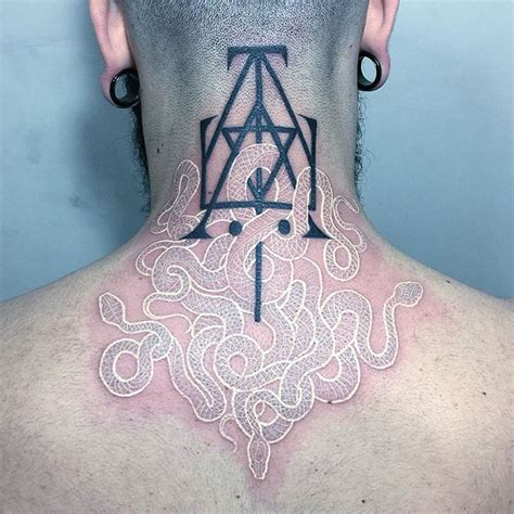 tattoo pictures black and white black and white snake tattoos by mirko sata bored panda