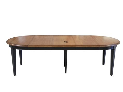 table rallonge chene massif table ronde directoire bois massif avec rallonges