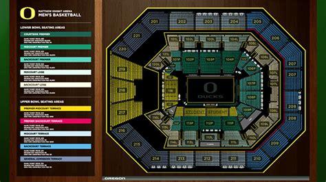 matthew arena seating rows of oregon matthew arena on behance