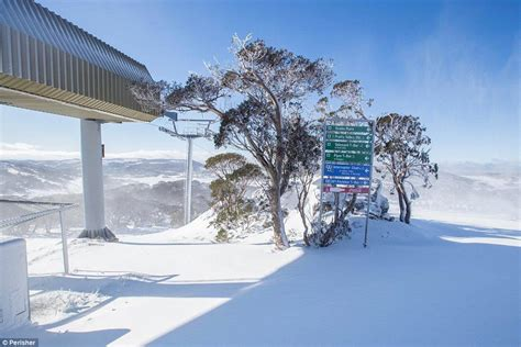 australia hit by winter snow and lowest temperatures for