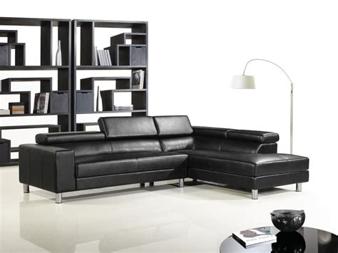 leather sectional living room furniture furniture design ideas electric black leather living room