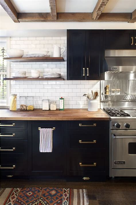 One Color Fits Most Black Kitchen Cabinets Rustic Black Kitchen Cabinets