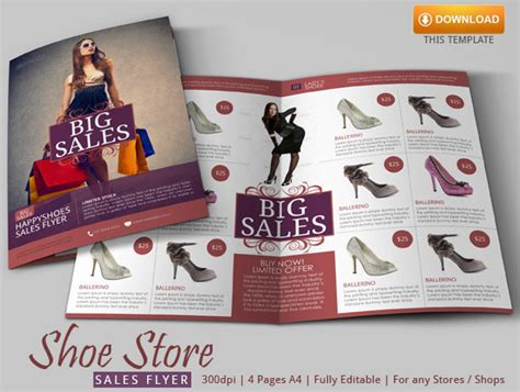 Shoes Flyer Design shoe store flyer template by blogankids on deviantart