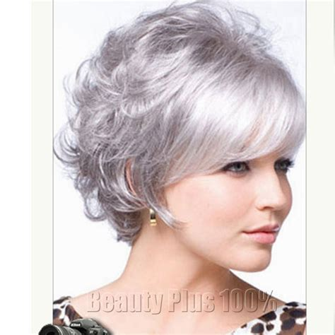 short hair wigs for older women 2016 very short hairstyles for older women synthetic curly