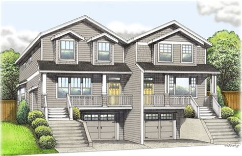 1 Floor House Plans by Portland Duplex For Sale