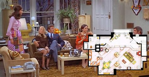 tv houses floor plans an artist recreated the floor plans for these 9 tv homes
