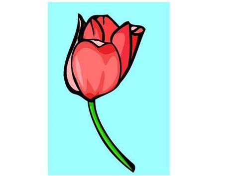 c section tulip clip art clipart panda free clipart images