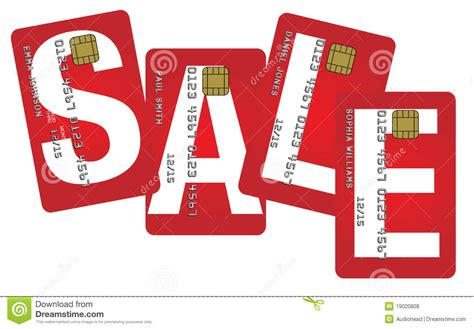 Gift Card Sles Free - credit cards with sale sign royalty free stock photos image 19020808