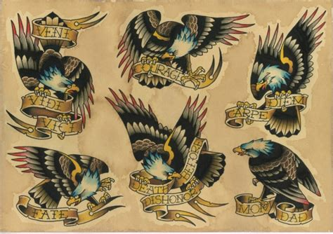 eagles flash tattoo by vincent penning darko s oneness
