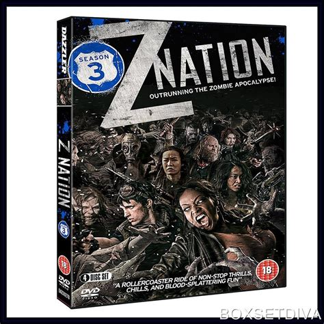 the deadly travellers complete 0745159133 z nation complete season 3 brand new dvd ebay