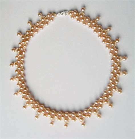 free beading tutorials pearl free pattern and seed on
