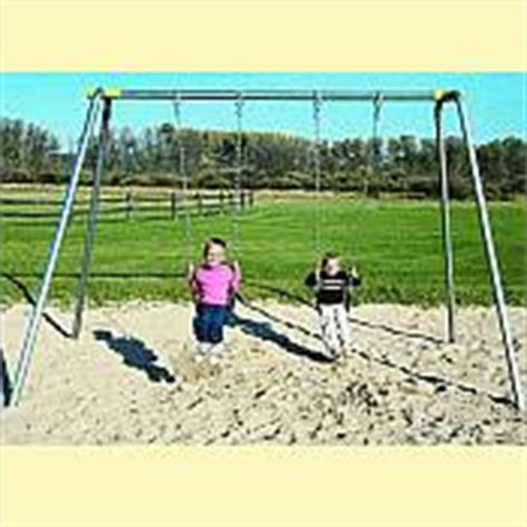 small metal swing sets small swing sets