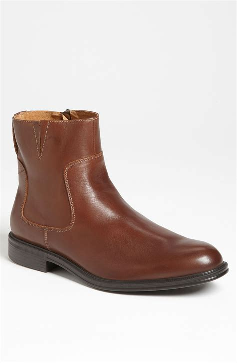 florsheim mens boots florsheim network boot in brown for lyst