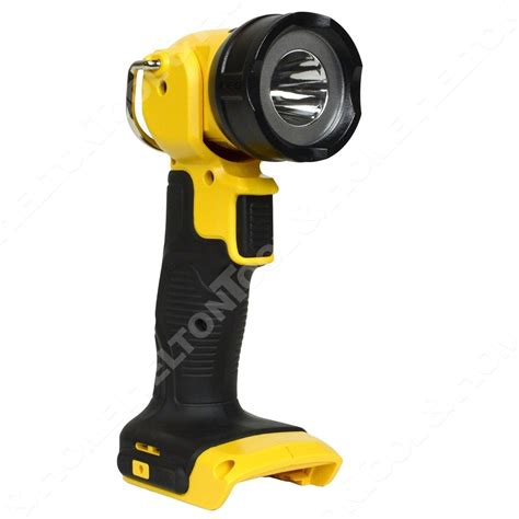 dewalt 20v led light dewalt dcl040 20 volt max led cordless work light