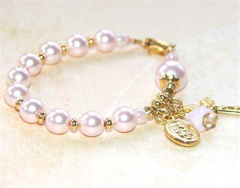 catholic baby bracelet rosary bracelet for baby