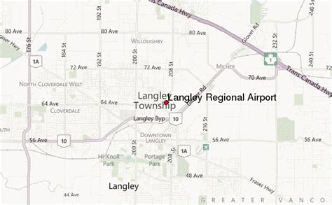 langley regional airport location guide