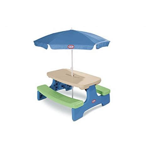 tikes easy store picnic table with umbrella back to tikes easy store picnic table with