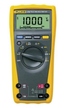 Multimeter Digital Fluke 179 fluke 179 true rms digital multimeter 0 09