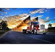 Peterbilt Rolling Down The Road  ROALING COAL Pinterest