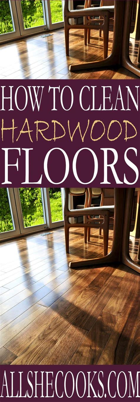 7 Tips On Keeping Your Floors Shiny by Learn The Best Way To Clean Hardwood Floors Using These