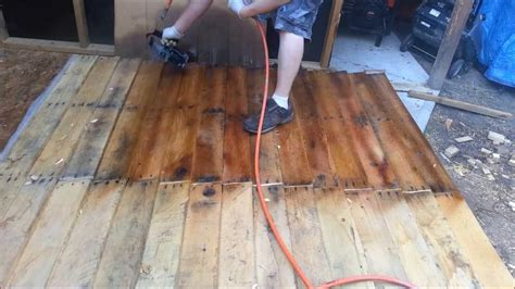 motor stain shed from free pallets part 3