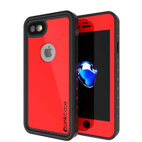 iphone  waterproof case punkcase studstar red case  apple iphone  waterproof case