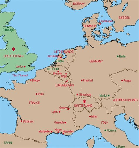 map of western western europe map images