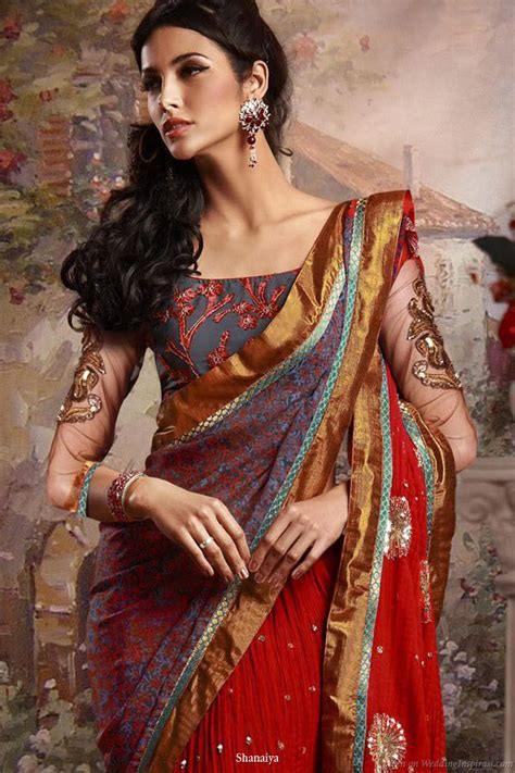 draping saree in different styles 10 different types of saree draping styles