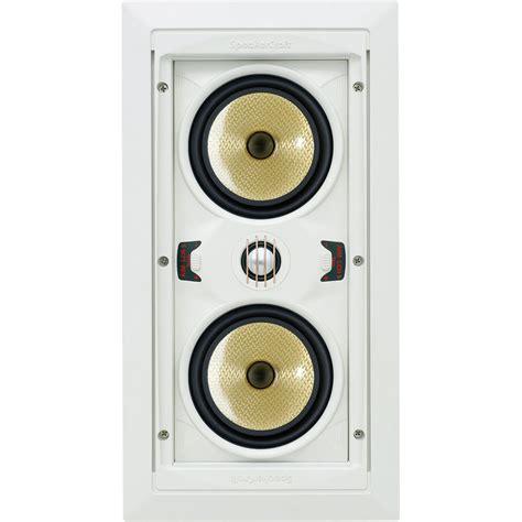 Speaker Caf Speakercraft Aim Lcr 5 In Wall Speaker Asm84651 B H Photo