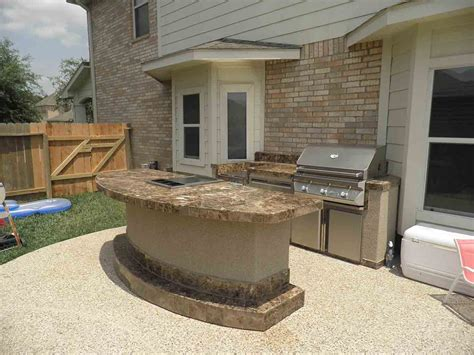 Outstanding Outdoor Kitchens Backyard Patio With Outdoor Bars Furniture For Patios