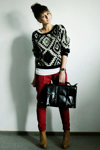Red Pants Meme - criminal damage leopard print white 91 sweater paired with