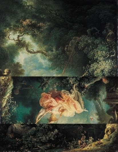 fragonard the swing 1767 jean honor 233 fragonard the swing 1767 in collage