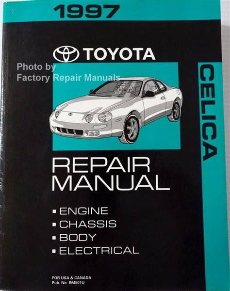 service and repair manuals 1995 toyota celica electronic toll collection 1997 toyota celica factory service manual original shop repair factory repair manuals