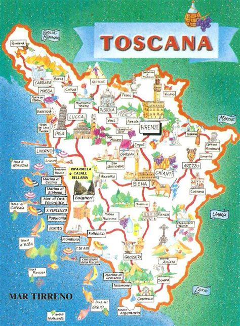 tuscany map a trip to tuscany without leaving home for italianwft rockin