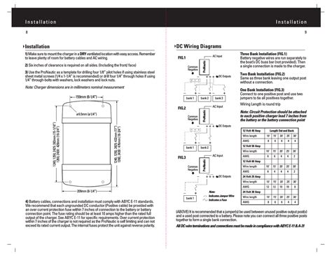 promariner battery charger wiring diagram wiring diagrams