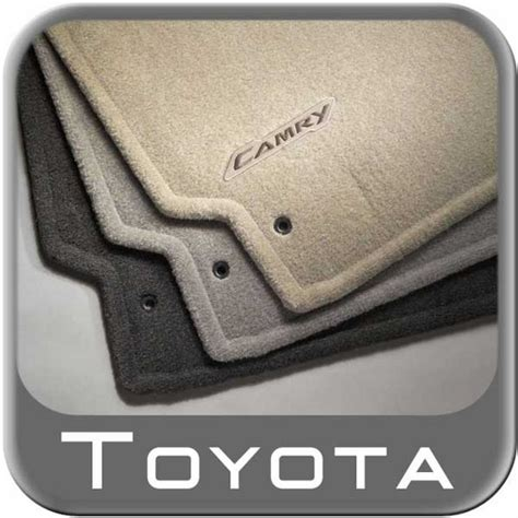 2007 2011 toyota camry floor mats carpeted 4 piece set dark charcoal