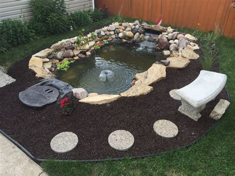 digging in backyard digging hole for pond in backyard landscaping lawn care page gogo papa