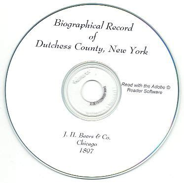 Dutchess County Records Biographical Record Of Dutchess County New York 1897