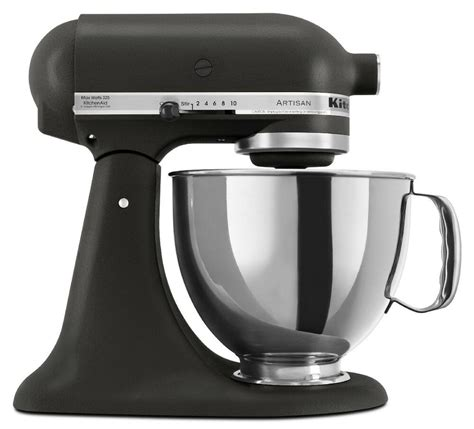 kitchen aid stand mixer kitchenaid stand mixer tilt 5 quart rrk150bk artisan 10 sp imperial black 50946877020 ebay