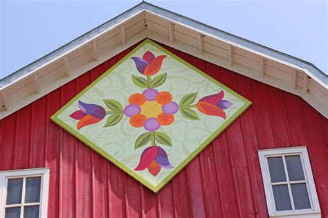 What Are The Quilt Patterns On Barns by Wooden Quilt Squares Brighten Barns In Carver County