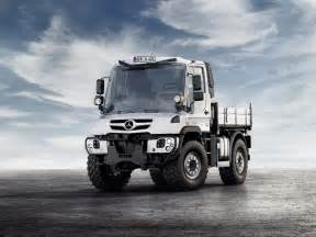 Mercedes Trucks Unimog Mercedes Tough As Nails Unimog Gets New Look Engines For