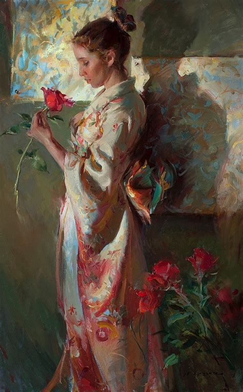 A Painting Within A Painting by Looking Within Daniel Gerhartz Figure Painting 8