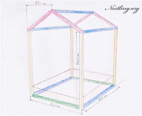 kinderbett haus selber bauen bodenbett f 252 r kinder floor bed selber bauen nestling