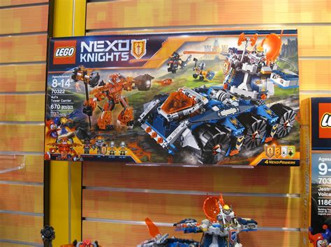 Lego 70322 Nexo Knights Axls Tower Carrier toys n bricks lego news site sales deals reviews mocs new sets and more