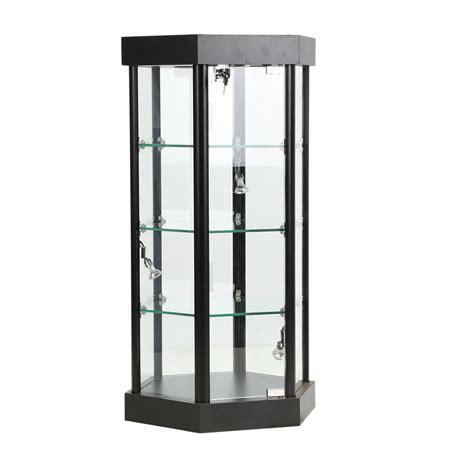 Retail Countertop Displays by Retail Counter Displays Lighted Hexagonal Countertop