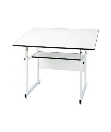 Alvin Workmaster Jr White Base Drafting Table Wmj 4 Xb White Drafting Table