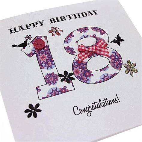 Handmade 18th Birthday Cards - discover and save creative ideas