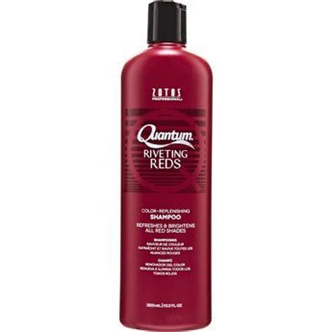 best color depositing shoo for hair quantum riveting reds color replenishing shoo how to