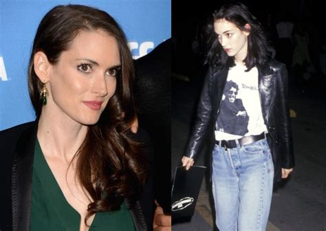 Winona Makes A Fashionable Comeback With Us Vogue by Winona Admits 90s Were Tough On As She Makes A