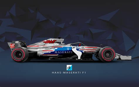 Maserati F1 by Haas Maserati F1 Concept Liveries 2018 On Behance